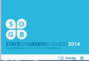 State of Green Business 2014 logo