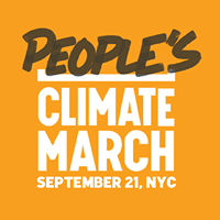 The People's Climate March happens September 21, 2014.