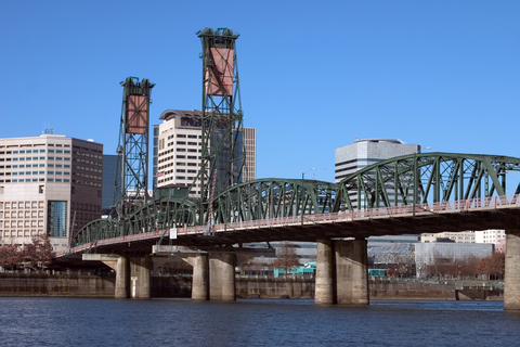 "Portland is also ""bridge city."""